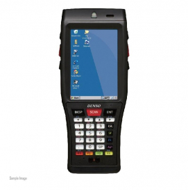 DENSO BHT-1200-ST4, CE TERMINAL WIN-CE 1D WIFI & BLUETOOTH INCLUDING BATTERY
