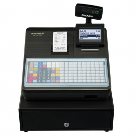Sharp XEA217 Cash Register with Flat Keyboard