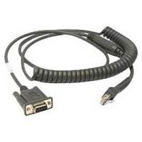 Dlc Rs 232 Cable   Power 9P Female  Coiled