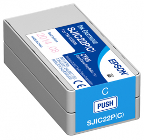 Epson Cyan Ink  (Pigment) For Tm-C3500