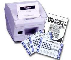 Star Micronics TSP847II Ethernet Printer with Autocutter inc Power Supply