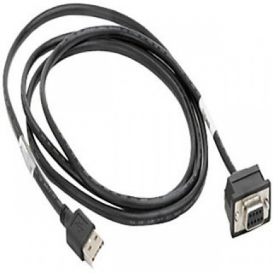Zebra Data Scanner Fixed USB 6ft Straight Cable