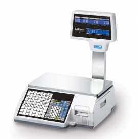 CAS CL-5500 Barcode Label and Receipt Printing Scale