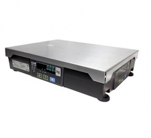 CAS PDII Weight Only Scale with Serial (RS232) Interface